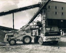 late 1960's loading in gravel pit